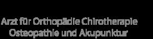 Dr. med. Peter Ivanits Orthopädie Praxis Frankfurt Logo